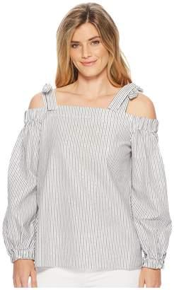 MICHAEL Michael Kors Off Shoulder Long Sleeve Top Women's Clothing