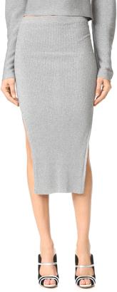 Mugler Long Skirt $795 thestylecure.com