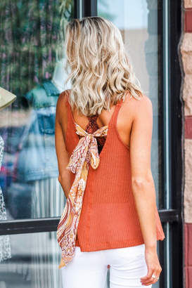 Blu Pepper Go With The Flow Knit Tank