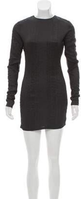 Kimberly Ovitz Bodycon Mini Dress Black Bodycon Mini Dress