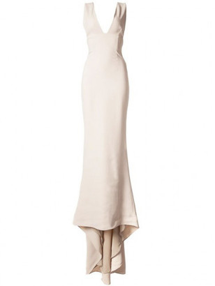 Stella McCartney plunging V-neck gown $2,965 thestylecure.com