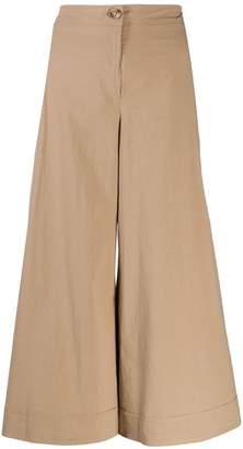M Missoni cropped wide-leg trousers