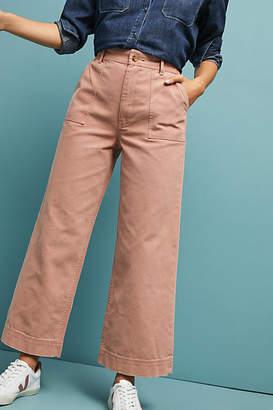 Frye Nadia High-Rise Wide-Leg Jeans