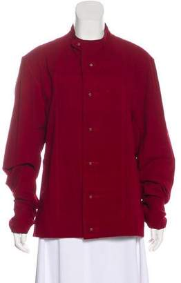 Issey Miyake Stand Collar Casual Jacket