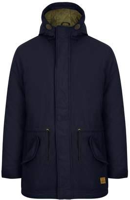 "Tokyo Laundry Mens Hammersmith Coat True Navy Blue - Medium 40"" Chest"