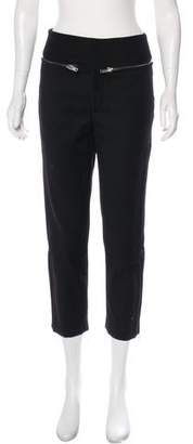 MS MIN Zip-Accented High-Rise Pants w/ Tags