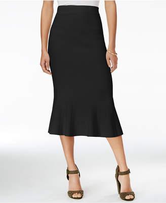 Rachel Roy Jacquard Midi Skirt