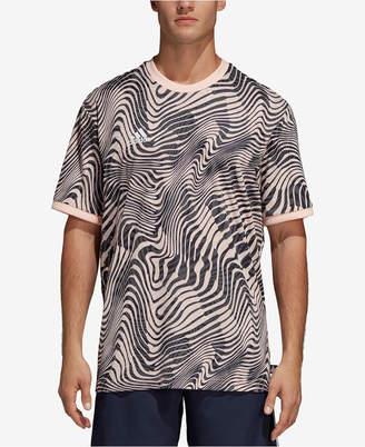 adidas Men's Tango ClimaLite Printed T-Shirt