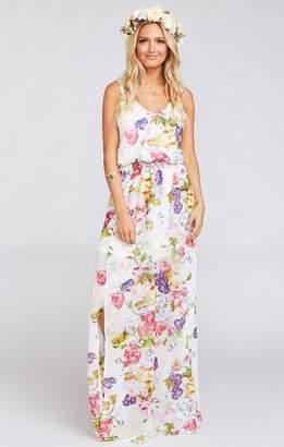 Show Me Your Mumu Kendall Maxi Dress ~ Best Friend Floral