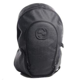 Gucci Interlocking GG Backpack Black