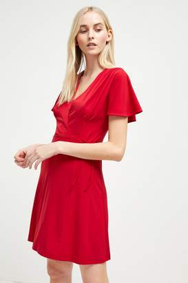 French Connection Alexia Crepe Jersey Wrap Dress