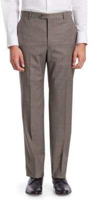 Emporio Armani Classic Wool Dress Pants