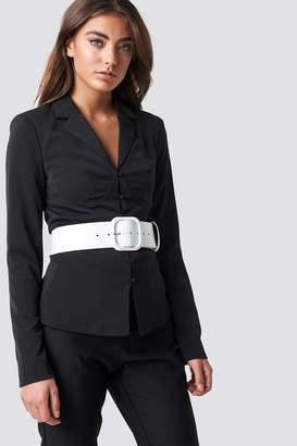 Na Kd Trend Boning Detail Blazer Black