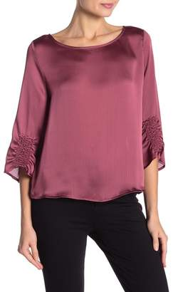 Vince Camuto Textured Satin Blouse