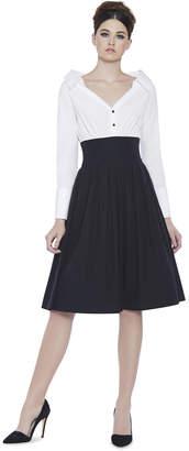 Alice + Olivia Iliana Mid Length Party Dress
