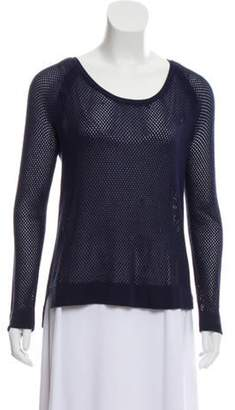 Rag & Bone Open Knit Scoop Neck Sweater Open Knit Scoop Neck Sweater