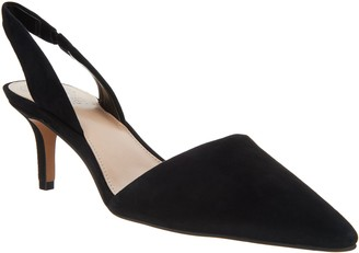 Vince Camuto Leather or Suede Slingback Pumps - Kolissa