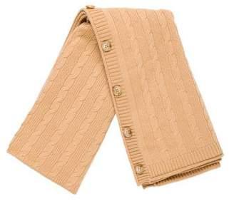 Vince Cashmere Knit Scarf
