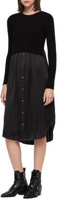 AllSaints Kowlo Shirtdress