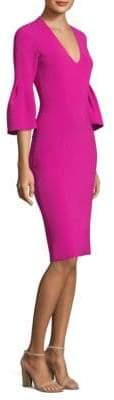 Sachin + Babi V-Neck Bell Sleeve Dress