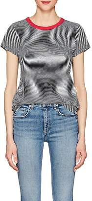 Rag & Bone Women's Striped Cotton T-Shirt