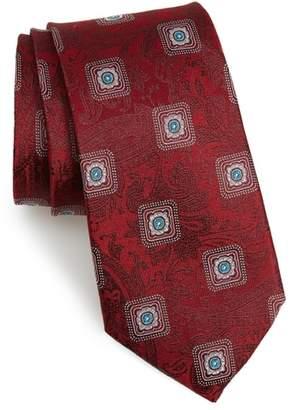 Nordstrom Baird Medallion Silk Tie