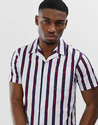 afe1ebdc2d6 Vertical Striped Shirt Men Short Sleeve - ShopStyle UK