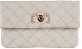 Marc Jacobs Marc Jacobs Quilted Leather Clutch