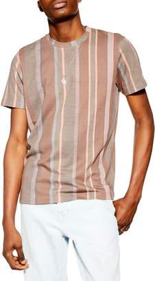 Topman Stripe Classic Fit T-Shirt