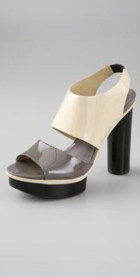 Pour La Victoire Felicia Two Band Platform Sandal