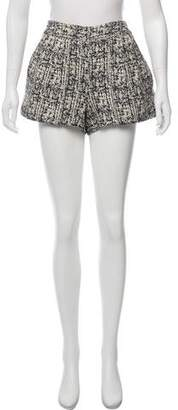 Proenza Schouler Pleated Bouclé Shorts