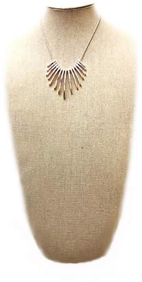 Arizona Womens Pink Pendant Necklace