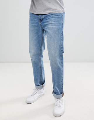 Dr. Denim Gus relaxed straight jeans in light blue wash
