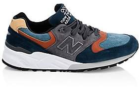 New Balance Men's 999 Colorblock Suede Active Runners