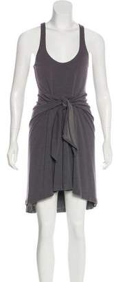 Halston Knee-Length Sleeveless Dress