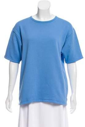 Acne Studios Crew Neck Short Sleeve Sweatshirt