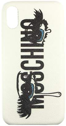 Moschino COUTURE Case Iphone X Case Capsule Collection With Eyes Print