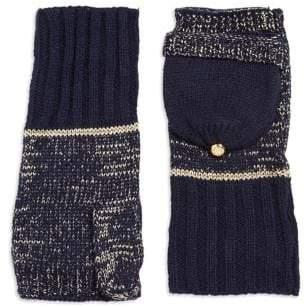 MICHAEL Michael Kors Textured Convertible Mitten Gloves