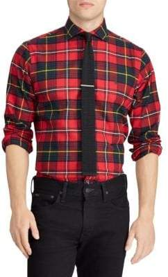 Polo Ralph Lauren Classic-Fit Brushed Flannel Sport Shirt