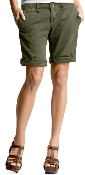 Roll-up Bermudas