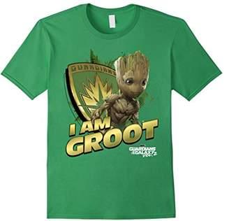 Marvel Guardians Vol.2 I AM GROOT Shield Splash T-Shirt