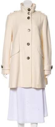Burberry Virgin Wool Coat