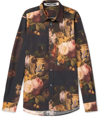 McQ Printed Cotton, Lyocell And Modal-Blend Shirt