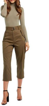 Bardot Cargo Belt Pant