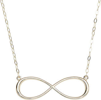 JCPenney FINE JEWELRY 14K Yellow Gold Infinity Necklace