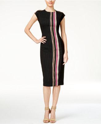 RACHEL Rachel Roy Striped Sheath Dress $149 thestylecure.com