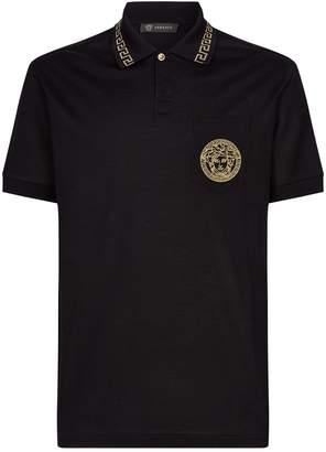 Versace Medusa Head Polo Shirt