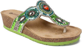 White Mountain Blast Wedge Sandal - Women's
