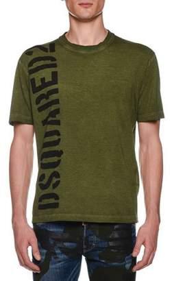 DSQUARED2 Men's Short-Sleeve Logo T-Shirt