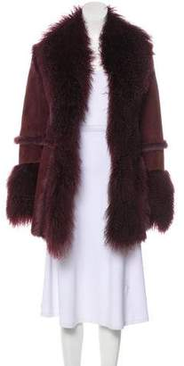 Shearling Short Coat